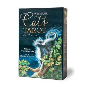 タロットカード 78枚 タロット占い 猫  ミスティカル キャッツ タロット Mystical Cats Tarot 日本語解説書付き |item-island-jp2