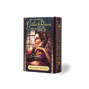 ルノルマン 占い ギルデッド・レヴェリー ルノルマン イクスパンデット エディション Gilded Reverie Lenormand Expanded Edition 日本語解説書付き|item-island-jp2