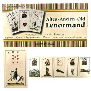 ルノルマン オラクルカード 占い オールド・ノルマン Old Lenormand 日本語解説書付き|item-island-jp2