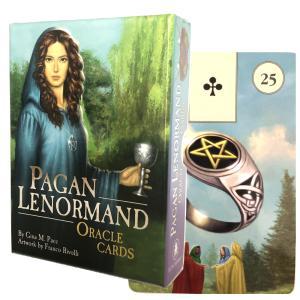 ルノルマン オラクル カード 占い  ペイガン ルノルマン オラクル カード Pagan Lenormand Oracle Cards  日本語解説書付き|item-island-jp2