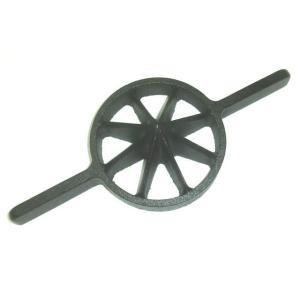 両手竹割り器(鋳物製)内径約130mm 中8ッ割