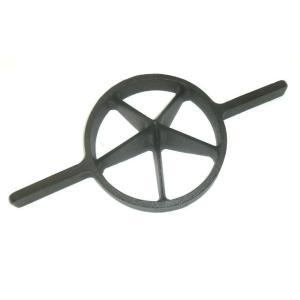 両手竹割り器(鋳物製)内径約180mm 大5ッ割 孟宗竹用