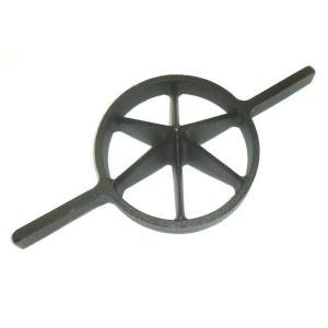 両手竹割り器(鋳物製)内径約180mm 大6ッ割 孟宗竹用