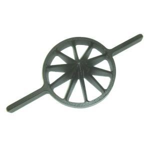 両手竹割り器(鋳物製)内径約180mm 大10ッ割 孟宗竹用