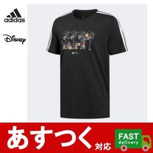 (adidas アディダス メンズ 3ストライプス DISNEY グラフィックTシャツ GL3085...