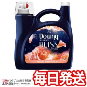 (Downy BLISS ダウニー インフュージョン ブリス スパークリング アンバーローズ 衣料用柔軟剤 3.4L)柔軟剤 洗濯 ローズ コストコ 15628
