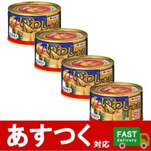 (マルハニチロ いわし水煮(月花)200g×4缶)マルハ 缶詰 天日塩 DHA EPA 国内 脂 非常食 コストコ 13485
