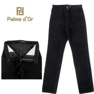 Palme d'Or パルムドール コットンパンツ ブラック PDPT-15AW-032
