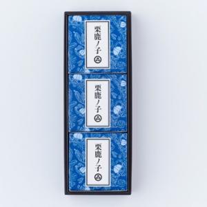 小布施堂栗鹿ノ子ミニ3個入【信州小布施のお土産】
