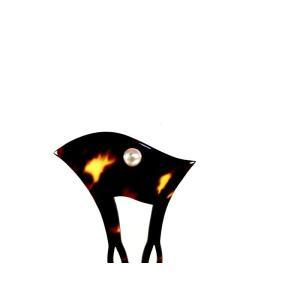 【創業145年べっ甲の菊池】本べっ甲 かんざし小ー341 (大特価)
