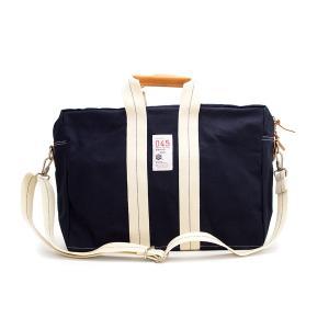 [横濱帆布鞄]2wayボストンバッグ<M16B12・ネイビー>|itempost