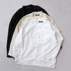 LOLO ロロ|スタンドカラーシャツ【全3色】