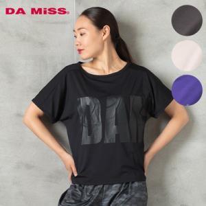 40c18665110d3 DAMISS フィットネスウェア Tシャツ DAMISS 【ダミス】 レディース ヨガ ダンス ウェア 9313-0153