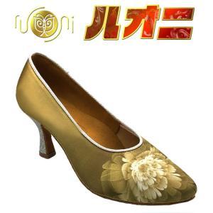 ルオニ ダンスシューズ  女性モダンシューズ FM1075-AB-BJ 【セミオーダー】|itempost