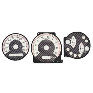 EL-NI03CB カーボン柄パネル EL スピードメーター パネル 日産 シルビア S15 199...
