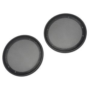 GR-365ME 6.5インチ 17cm 16cm用 ブラックメッシュ スピーカーグリル(カーオーディオ スピーカー グリル カバー パーツ カースピ|itempost