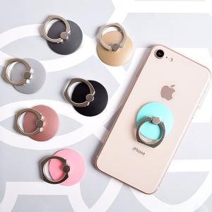 [スマホケース/iPhoneケース][スマホリング]【Circle Ring Finger Ring Holder】シンプル サークル 丸型 マル リングホルダー リングスタンド ipad・iPhone6・|itempost