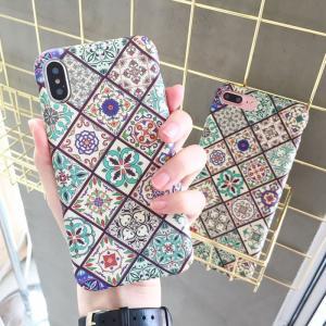 [スマホケース/iPhoneケース]【Paisley Mandala Flower iPhone C...