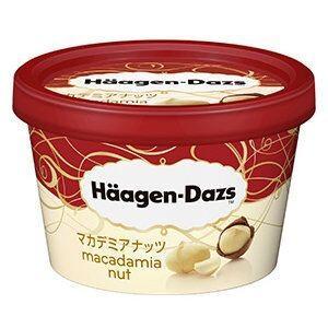 【ハーゲンダッツアイスクリーム】 ミニカップ マカデミアナッ...