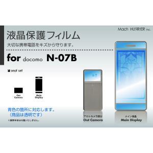 amadana N-07B液晶保護フィルム 3台分セット|itempost