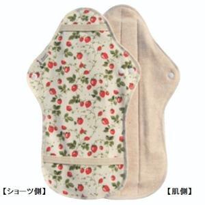 オーガニックコットン 布ナプキン Dシリーズ ナイト用:いち...
