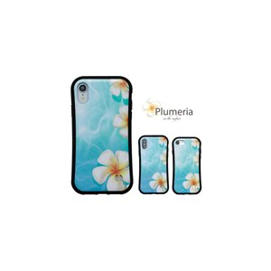 iPhone ケース かわいい 海 花 【 プルメリア 耐衝撃 】iPhoneXR / iPhoneXS / iPhoneX / iPhone8 / iPhone7|itempost