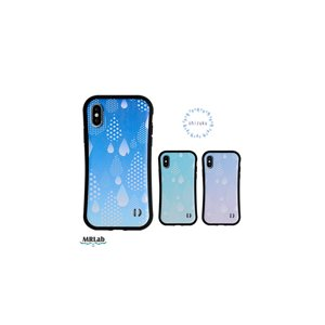 iPhone ケース 水玉 ドット かわいい 【 しずく 耐衝撃 】iPhoneXS Max / iPhoneXR / iPhoneXS / iPhoneX / iPhone8 / iPhone7|itempost