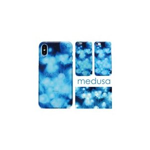 【  medusa 水色 クラゲ 】 ハードケース  TPUソフトケース iPhoneXS iPhoneX iPhone8 iPhone7 iPhone6s|itempost