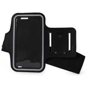 iPhone 6 サイズ調整可能 防水アームバンド イヤフォン穴・キー収納付き ブラック|itempost