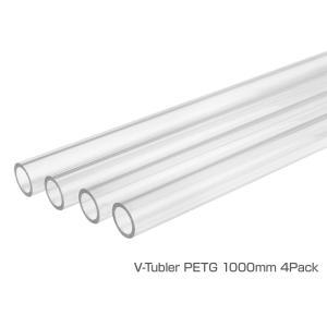 Thermaltake V-Tubler PETG Tube 16mm OD 1000mm 4Pack Pacificシリーズ用チューブ (CL-W116-PL16TR-A)