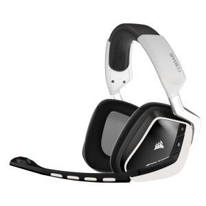 Corsair Gaming VOID Wireless GamingHeadset ゲーミングワイヤレスヘッドセット ホワイト (CA-9011145-NA)