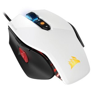 Corsair M65 PRO RGB 12000dpi FPSに特化したゲーミングマウス ホワイト|CH-9300111-NA