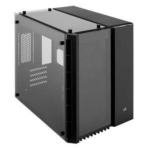 Corsair Crystal 280X ブラック microATX ミニタワー型PCケース|CC-9011134-WW|itempost