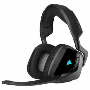 【アウトレット特価・新品】Corsair VOID RGB ELITE Wireless カーボン ワイヤレス ゲーミングヘッドセット|CA-9011201-AP|itempost