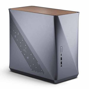 【アウトレット特価・新品】Fractal Design Era ITX Titanium Gray - Walnut ミニタワー型PCケース チタニウムグレーカラー/ウッド(ウォールナット風)|FD-CA-|itempost