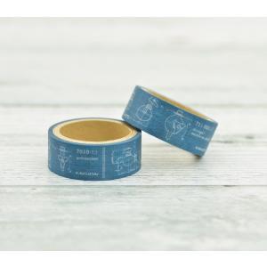 マスキングテープ 4m 図面 (グリーン 蛇口 かっこいい)