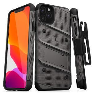 iPhone 11 Pro Max (2019) (6.5インチ)  ケース 【 Zizo 】 耐衝撃 キックスタンド ベルトクリップ 機能付 強化ガラス保護フィルム ランヤード 付属  BOLT シ itempost