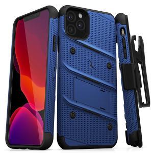 iPhone 11 Pro (2019) (5.8インチ)  ケース 【 Zizo 】 耐衝撃 キックスタンド ベルトクリップ 機能付 強化ガラス保護フィルム ランヤード 付属  BOLT シリーズ|itempost