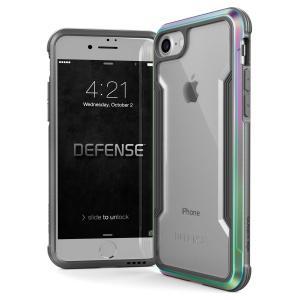 X-Doria iPhone 8 / 7 ケース DEFENSE SHIELD シリーズ 米軍MIL規格取得 MIL-STD-810G 衝撃吸収 スリム ハイブリッド アルミニウム × TPU × ポリカーボネイト itempost
