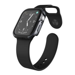 【 X-Doria 】 Apple Watch 44mm ケース Series 5 & Series 4 DEFENSE EDGE シリーズ プレミアム アルミニウム x TPU バンパー フレーム ハイブリッド (2 itempost