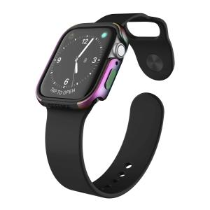【 X-Doria 】 Apple Watch 40mm ケース Series 5 & Series 4 DEFENSE EDGE シリーズ プレミアム アルミニウム x TPU バンパー フレーム ハイブリッド (2 itempost