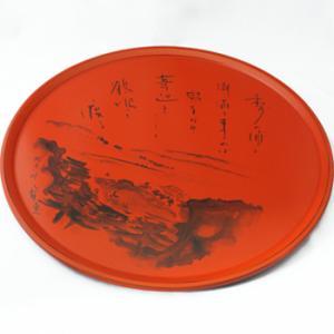 販売元:漆器の島安【うるわしうるし】 ラッピングサイズ:大 生活・インテリア・文具、和食器、大皿 紀...