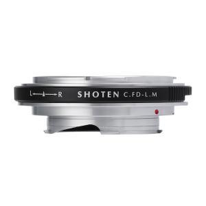 SHOTEN CFD-LM(キヤノンFDマウントレンズ → ライカMマウント変換)マウントアダプター