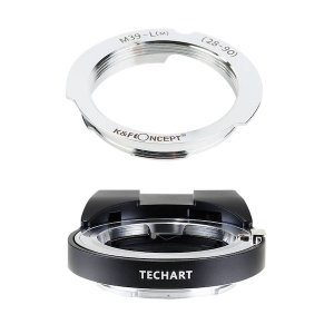 TECHART LM-EA7 + K&F Concept KF-LM-2890|ライカLレンズ28/...
