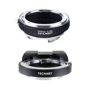 TECHART LM-EA7 + K&F Concept KF-NFM|ニコンFマウントレンズ用マウ...