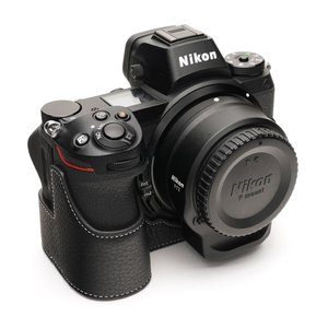 TP Original Nikon Z7/Z6 用 ボディーハーフケース ブラック