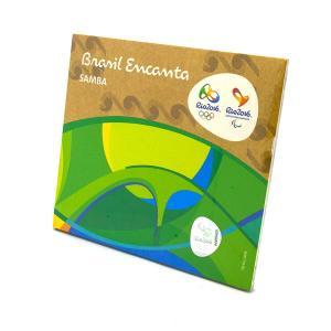 リオオリンピック公式サンバCD【Brasil Encanta】SAMBA全14曲