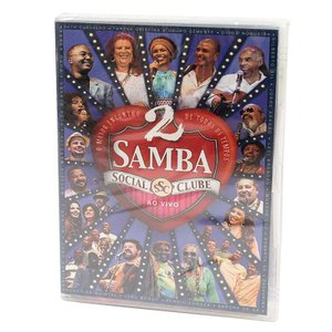 【SAMBA SOCIAL CLUBE AO VIVO】オムニバスDVD Vol.2
