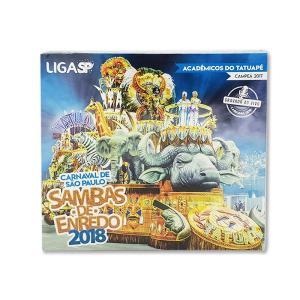 サンバ2枚組CDサンパウロのカーニバル【SAMBAS DE ENREDO 2018】