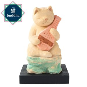 猫buddha 猫福神 弁財天